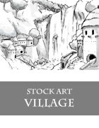 Primitive Village 2 - Stock Art