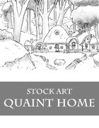 Quaint Village - Stock Art