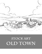 Old Town - Stock Art