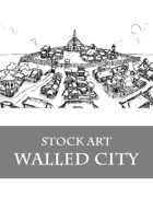 Walled City - Stock Art