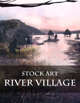 River Village - Stock Art