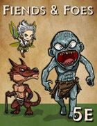 Fiends & Foes: 48 D&D 5e Monster Cards (CR0 - CR1)