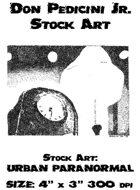 Urban Paranormal Stock Art  URBAN-001