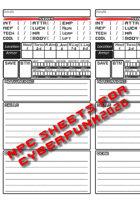 Cyberpunk 2020 NPC Sheet