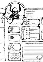 On the Shoulders of Heroes Character Sheet 5e