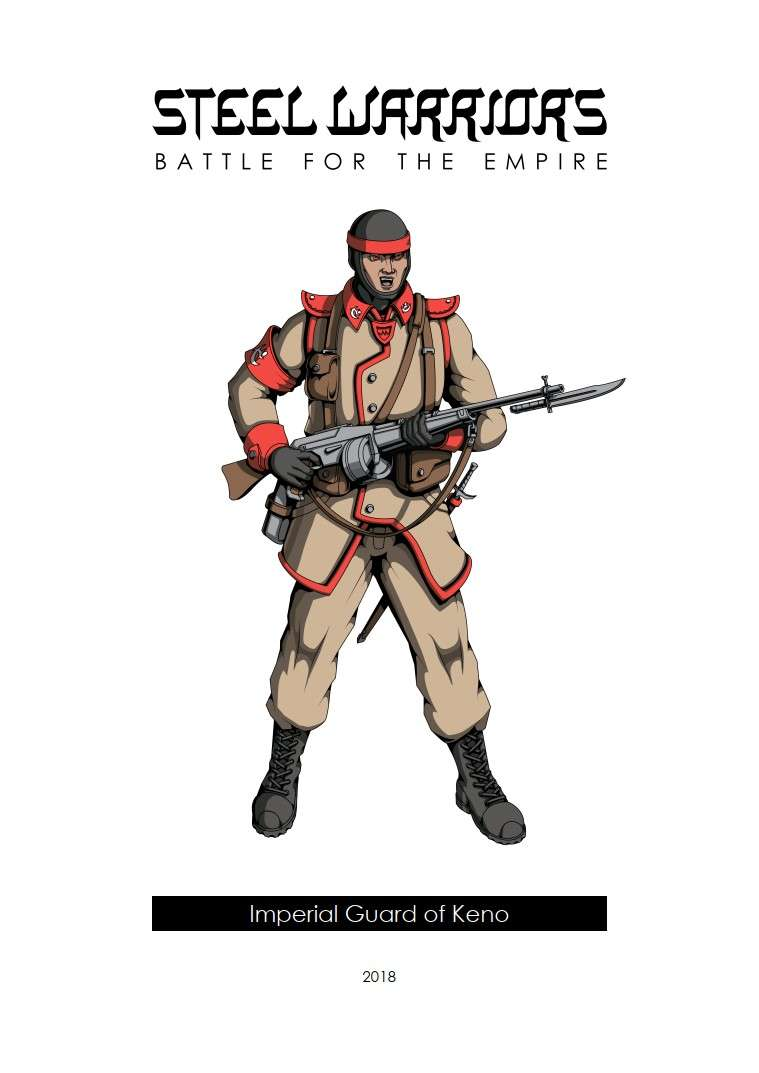 Steel Warriors - Battle for the Empire - Imperial Guard of Keno