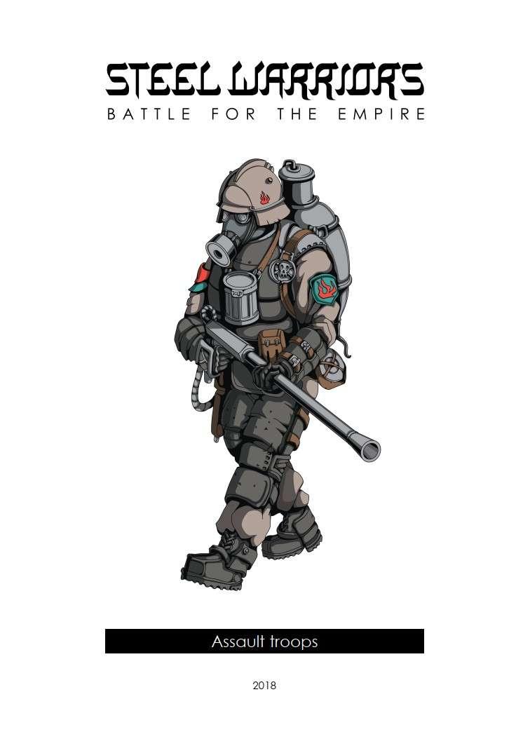 Steel Warriors - Battle for the Empire - Assault Troops