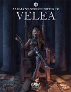 Aaralyn's Stolen Notes to Velea (5e DnD)