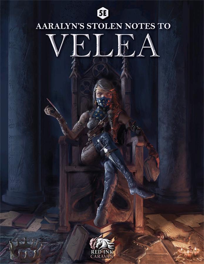 Aaralyn's Stolen Notes to Velea (5e DnD) - AnnesFlashBack | DriveThruRPG com