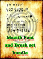 Mazith fonts  [BUNDLE]
