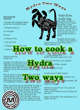 Cooking Hydra two ways