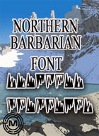 Northern Barbarian  (mazith font)