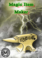 Magic Item Maker tool