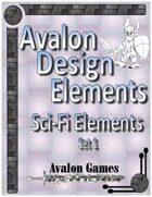 Avalon Design Elements, Sci-Fi Set 1