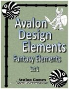 Avalon Design Elements, Fantasy Set 1