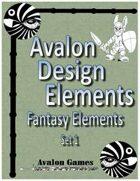 Avalon Design Elements, Fantasy Set 1