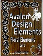 Avalon Design Elements, Floral Set 1