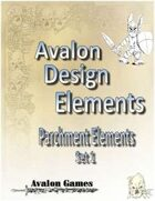 Avalon Design Elements Parchment Set 1