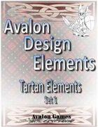 Avalon Design Elements, Tartan Set 1