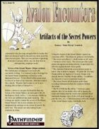 Avalon Encounters Vol 1, Issue #4 Artifacts of the Secret Powers