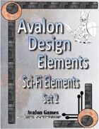 Avalon Design Elements, Sci-Fi Set 2