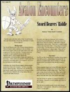 Avalon Encounters Vol 1, Issue #5 Sword Bearers