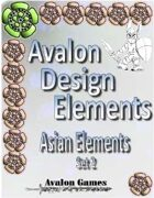 Avalon Design Elements, Asian Set 2