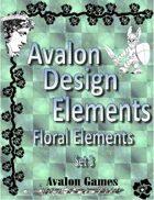 Avalon Design Elements, Floral Set 3