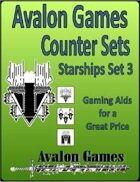 Avalon Counters, Starships Set #3