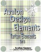 Avalon Design Elements Tartan Set 3
