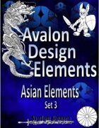 Avalon Design Elements, Asian Set 3