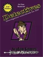 Detectives Investigation Sourcebook