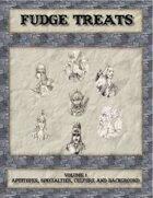 Fudge Treats, Aptitudes, Specialties, Culture, and Background