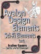 Avalon Design Elements, Sci-Fi Set 4