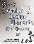 Avalon Design Elements, Floral Set 4