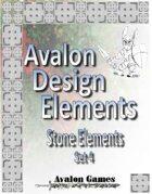 Avalon Design Elements, Stone Set 4