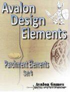 Avalon Design Elements, Parchment Set 4