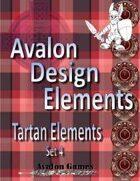 Avalon Design Elements, Tartan Set #4