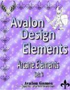 Avalon Design Elements, Arcane Set 4