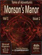 Tomes of Adventure, Morson's Manor
