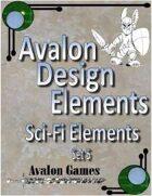 Avalon Design Elements, Sci-Fi Set #5