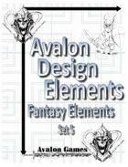 Avalon Design Elements, Fantasy Set #5