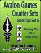 Avalon Counters, Starships Set #5