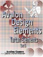 Avalon Design Elements, Tartan Set #5