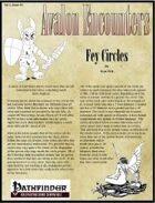 Avalon Encounters Vol 1, Issue #9 Fey Circles