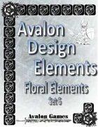Avalon Design Elements, Floral Set #6