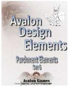 Avalon Design Elements, Parchment Set #6
