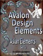 Avalon Design Elements, Asian Set 6