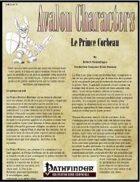 Avalon Characters, Vol 1, n° 1, Le Prince Corbeau