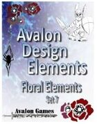 Avalon Design Elements, Floral Set 7
